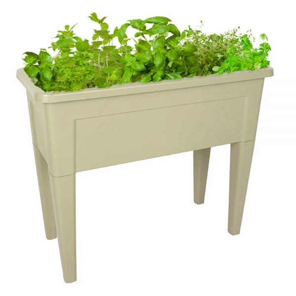 Salad bar raised planter garden