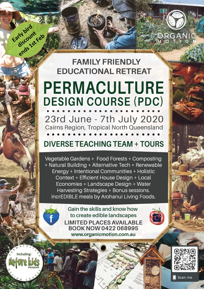 Organic Motion Permaculture Design Course 2020